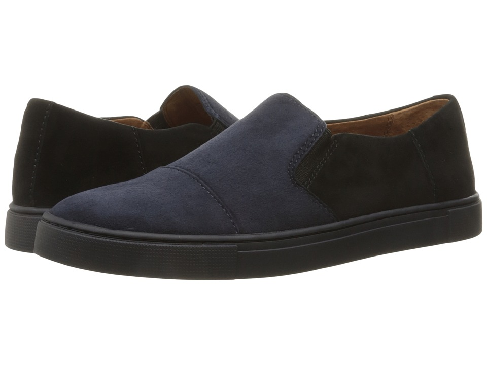 Frye Gemma Cap Slip (Navy Multi Suede/Dark Outsole) Women