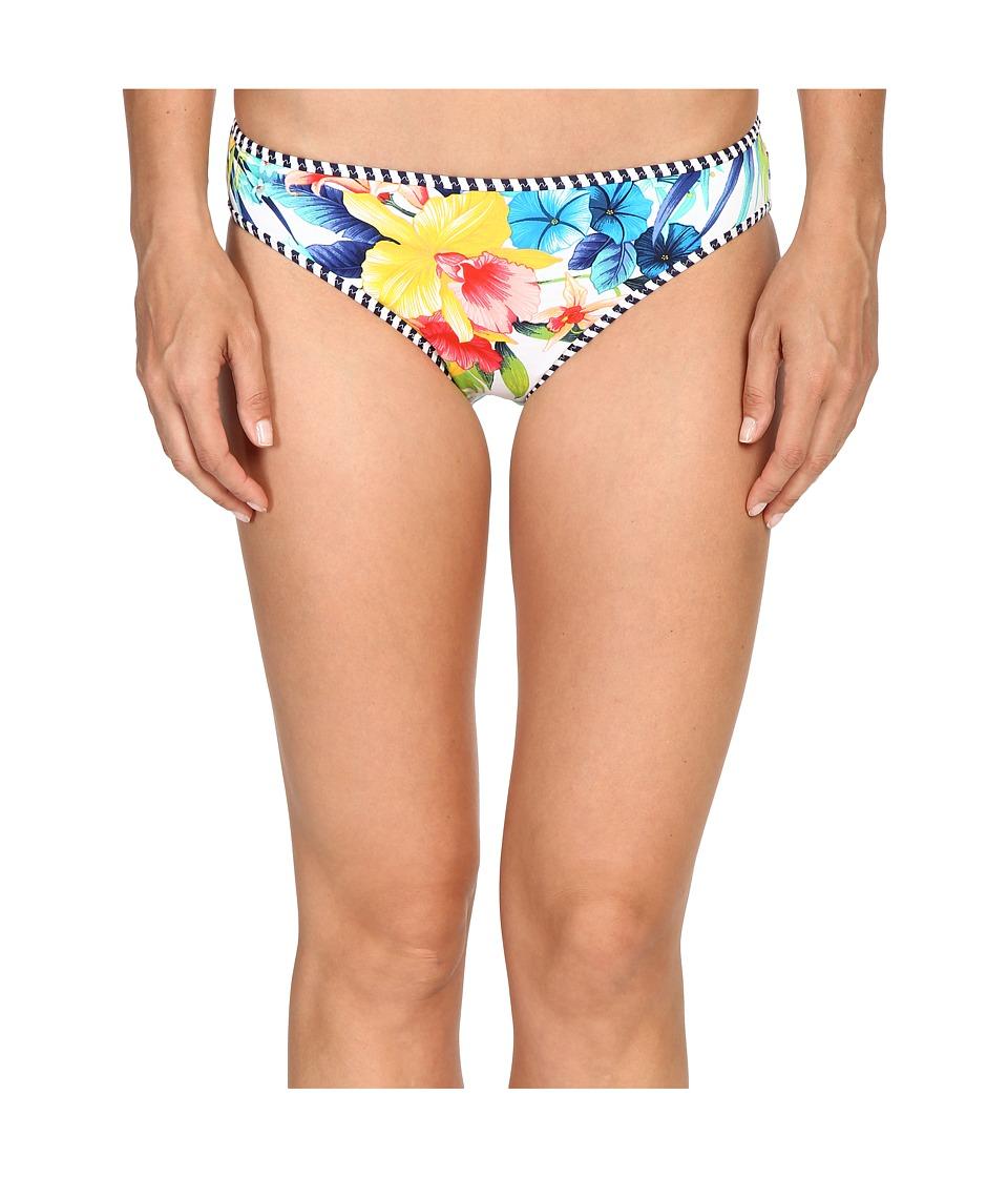Tommy Bahama - Fleur de Lite Reversible Hipster Bikini Bottom (Multicolor) Women's Swimwear