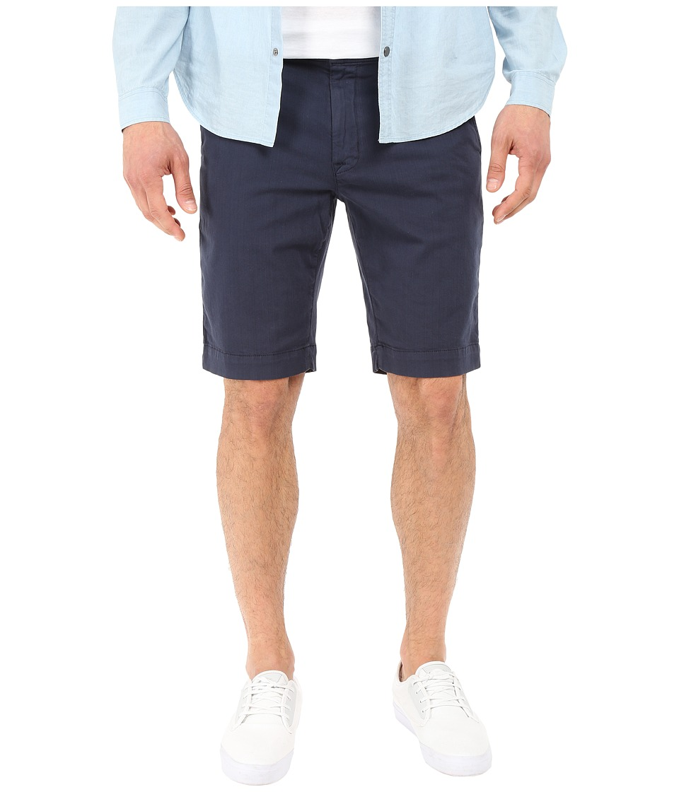 Hudson - Chino Short (Blue) Men's Shorts