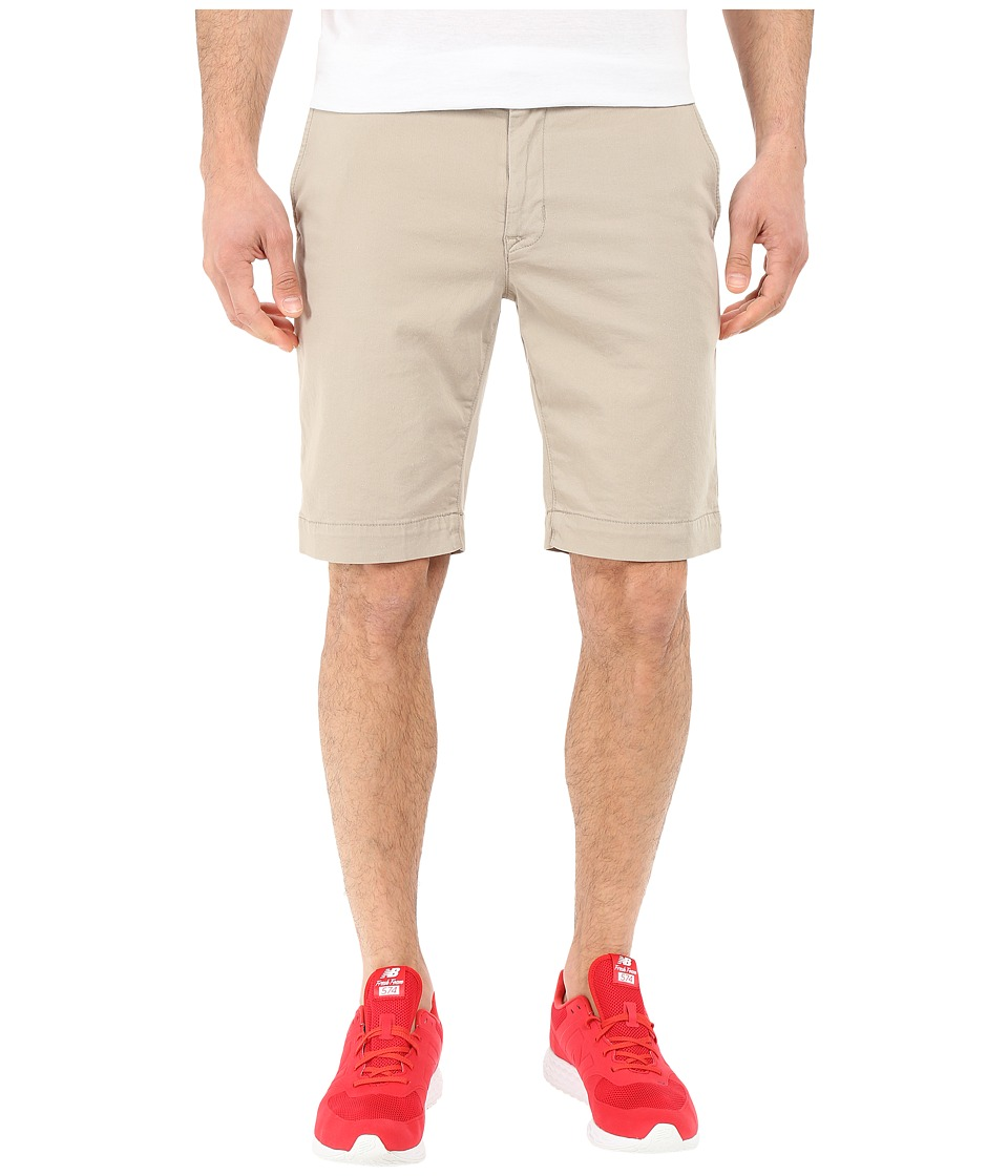 Hudson - Chino Short (Khaki) Men's Shorts