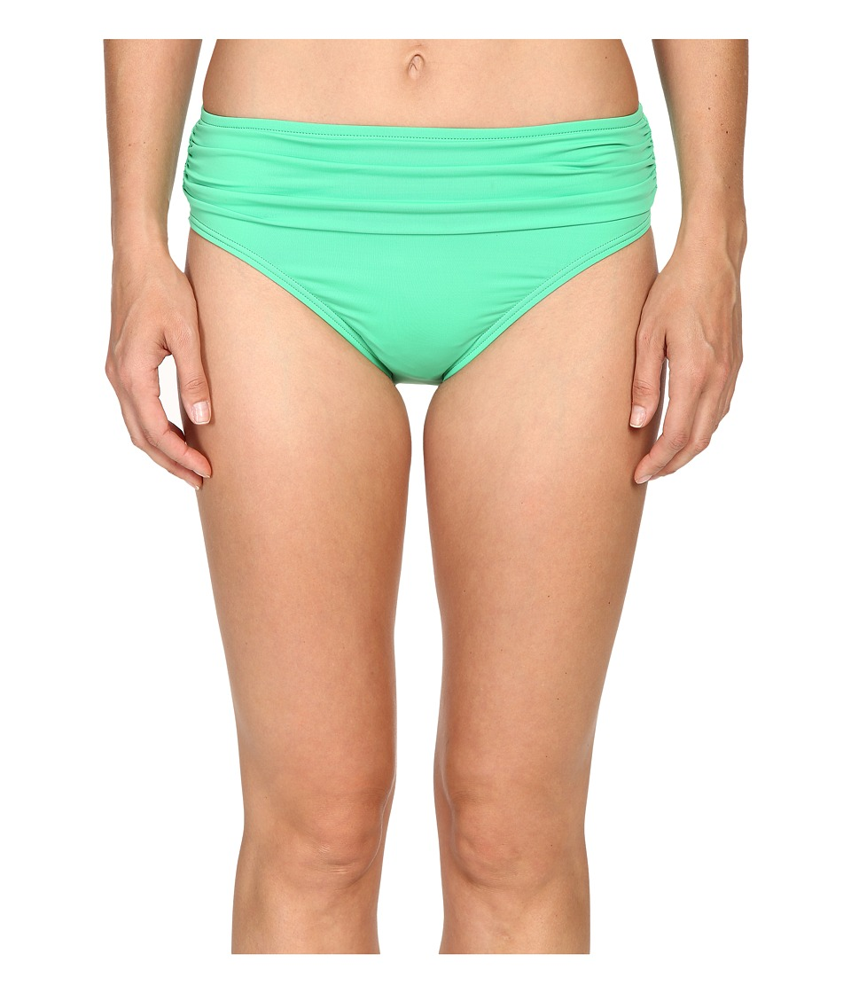 Tommy Bahama - Pearl High-Waist Hipster Bikini Bottom (Clearwater Green) Women's Swimwear