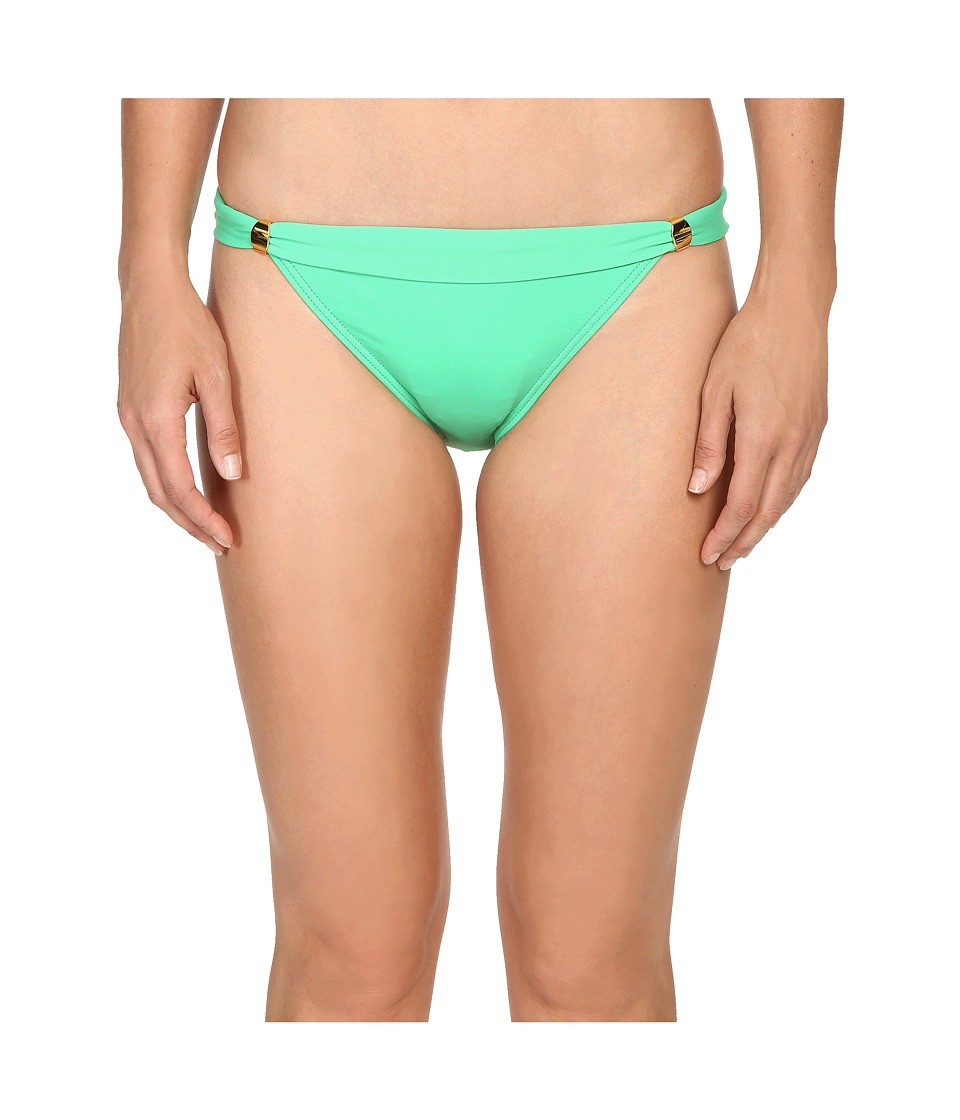 Tommy Bahama - Pearl Narrow Hipster Bottom with Hardware (Clearwater Green) Women's Swimwear