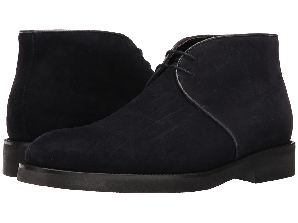 To Boot New York - Curry (Blue Suede) Men's Shoes