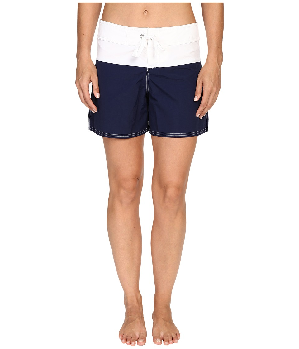 Tommy Bahama - Color Block 5 Boardshorts (Mare Navy) Women's Swimwear