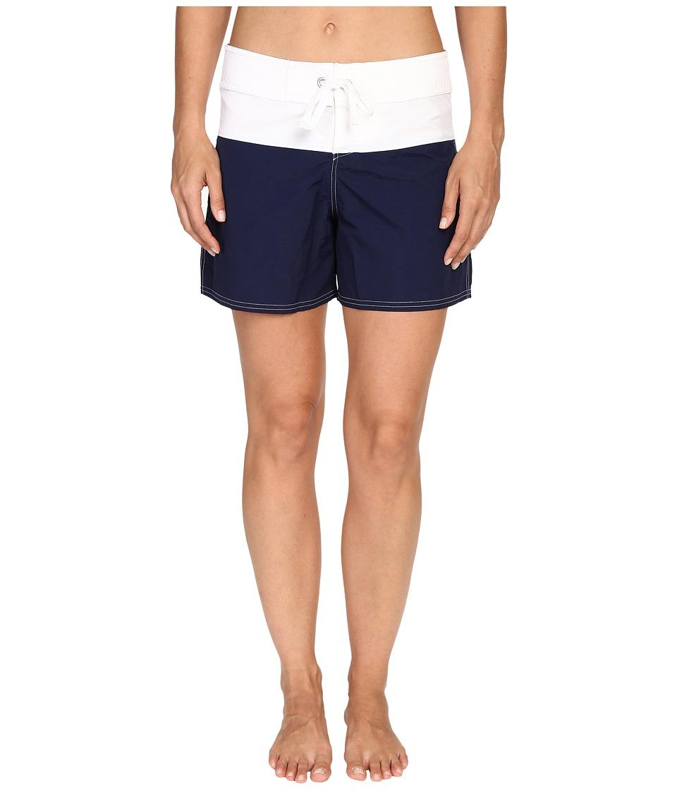 Tommy Bahama Color Block 5 Boardshorts (Mare Navy) Women