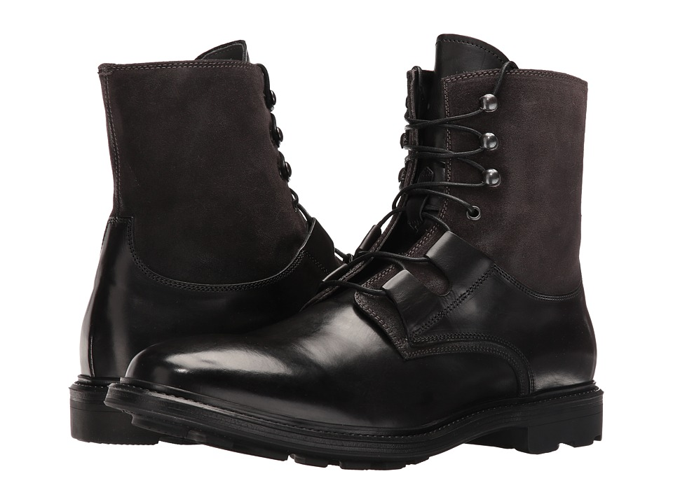 To Boot New York - Duncan (Black/Grey) Men's Shoes