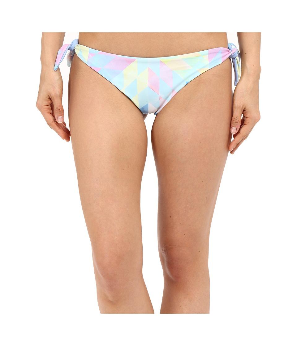 Mara Hoffman - Brazilian Bottom (Fractals Turquoise) Women's Swimwear