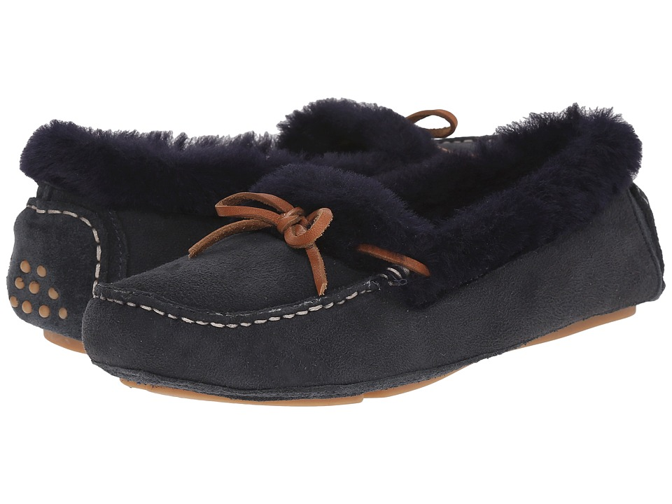 Johnston & Murphy - Maggie Slipper (Navy Suede) Women's Slippers