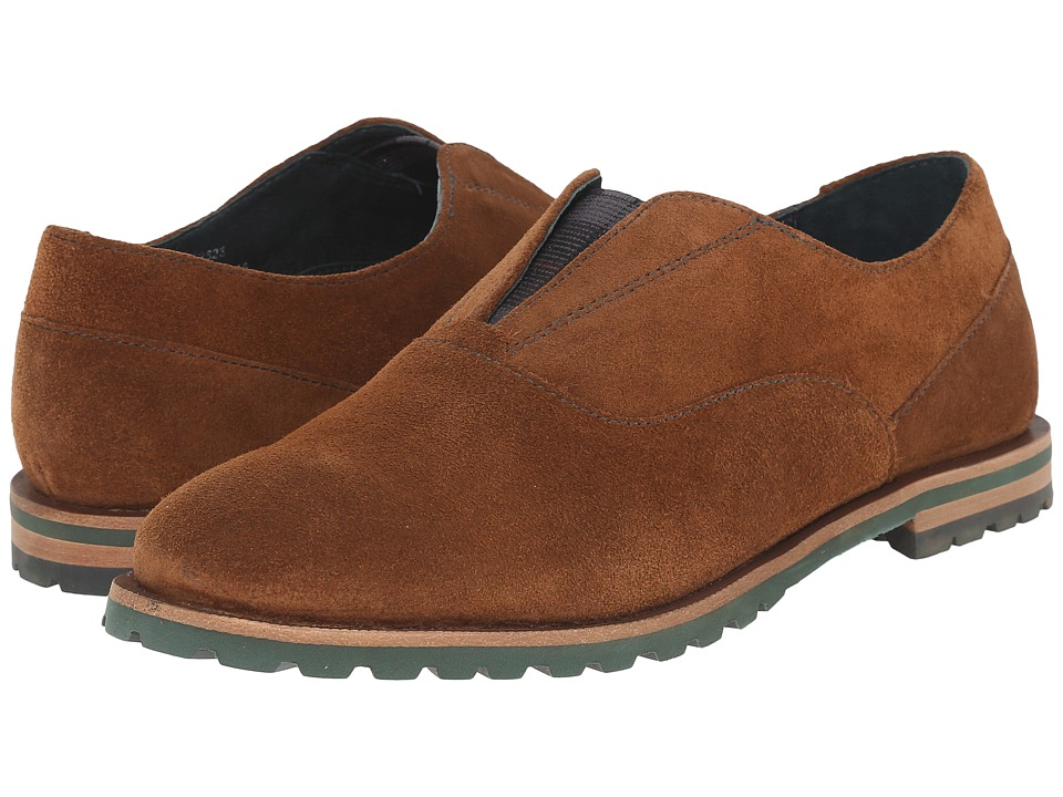Johnston & Murphy - Brit Gore Slip-On (Chestnut Suede) Women's Slippers
