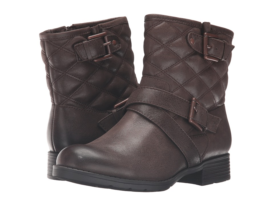 Comfortiva - Vestry (Dark Brown) Women's Zip Boots
