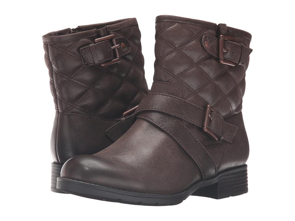 Comfortiva - Vestry (Dark Brown) Women's Zip Boots