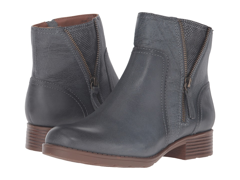 Comfortiva - Val (Denim Blue) Women's Zip Boots