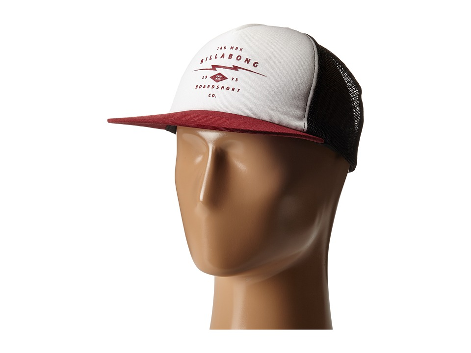 Billabong - Mindstate Trucker Hat (Brick) Caps