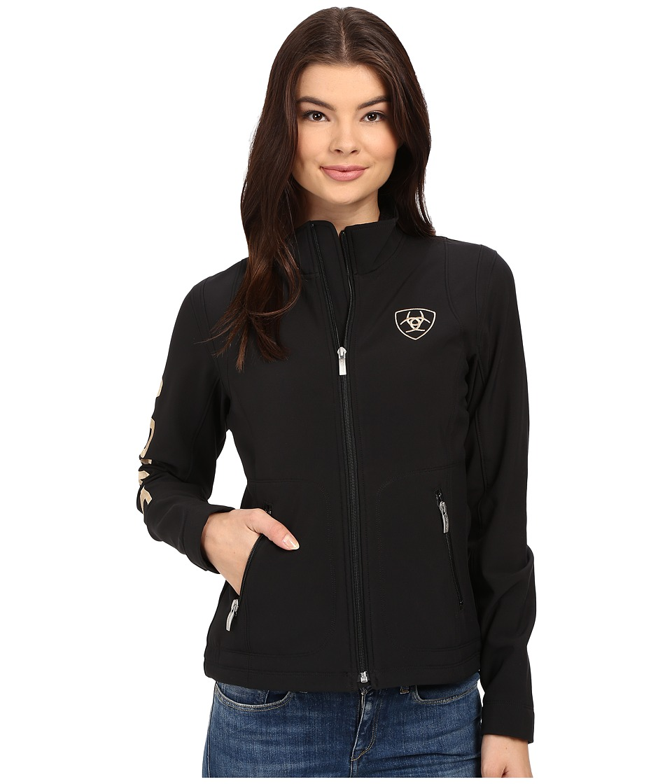 Ariat - Team Softshell Jacket (Black) Women's Jacket