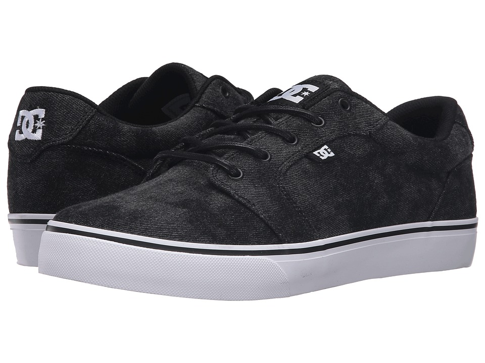 DC - Anvil TX LE (Washed Out Black 2) Men's Shoes