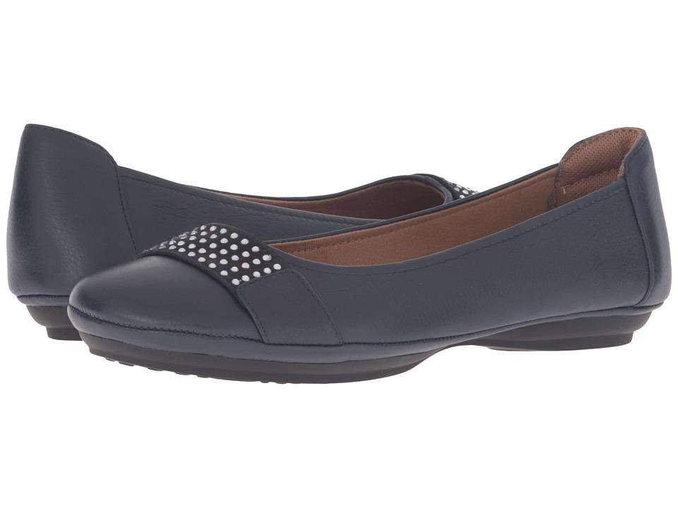 Comfortiva - Sallis (Navy) Women's Slip on Shoes
