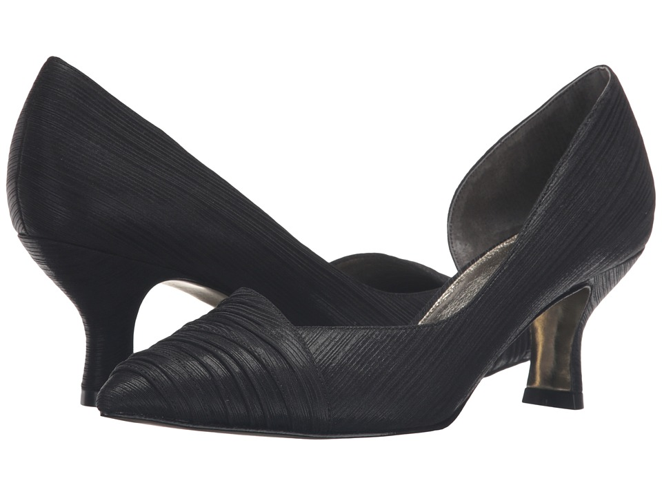 Adrianna Papell - Harriet (Black Byzantine Metallic) High Heels