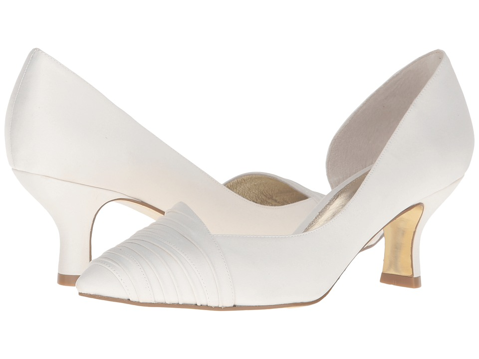Adrianna Papell Harriet (Ivory Classic Satin) High Heels