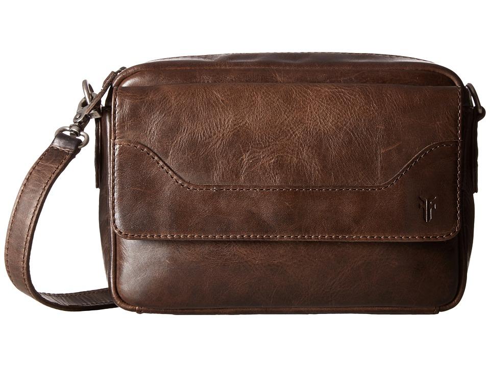 Frye - Melissa Camera Crossbody (Slate Antique Pull Up) Cross Body Handbags