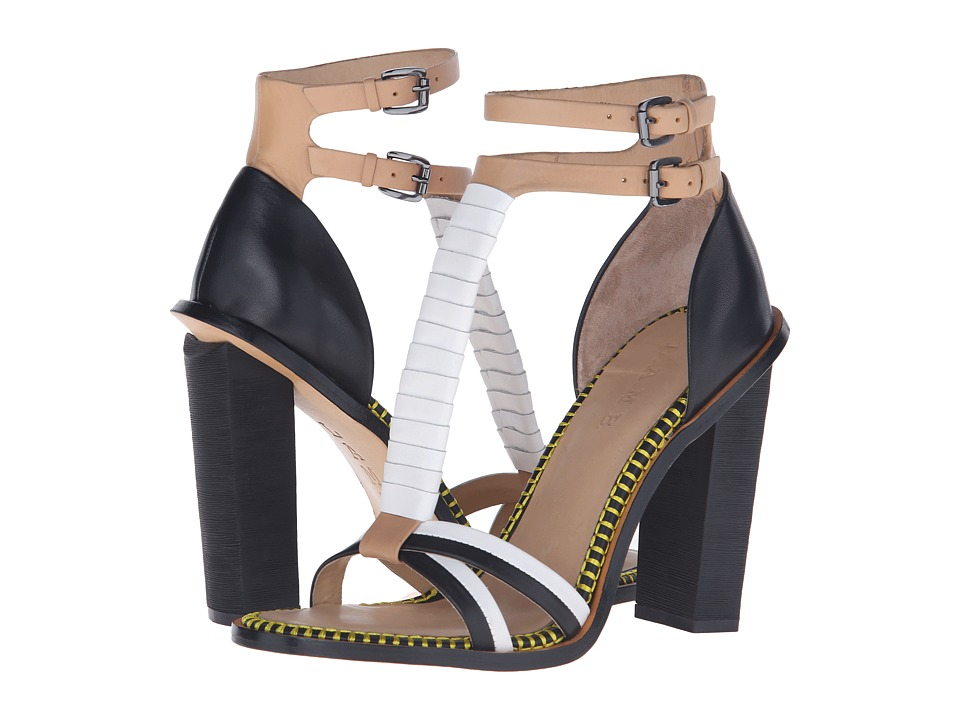 L.A.M.B. - Oracle (Natural/White) High Heels