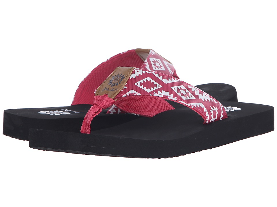 Yellow Box - Bandit (Berry) Women's Sandals