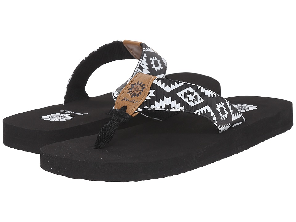 Yellow Box - Bandit (Black) Women's Sandals