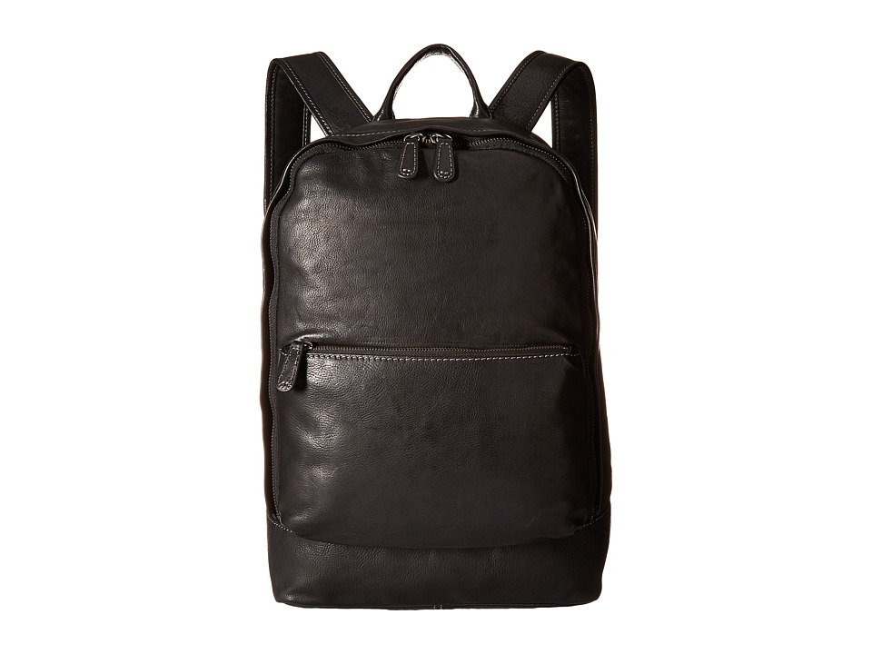 Frye - Chris Backpack (Black Full Grain) Backpack Bags