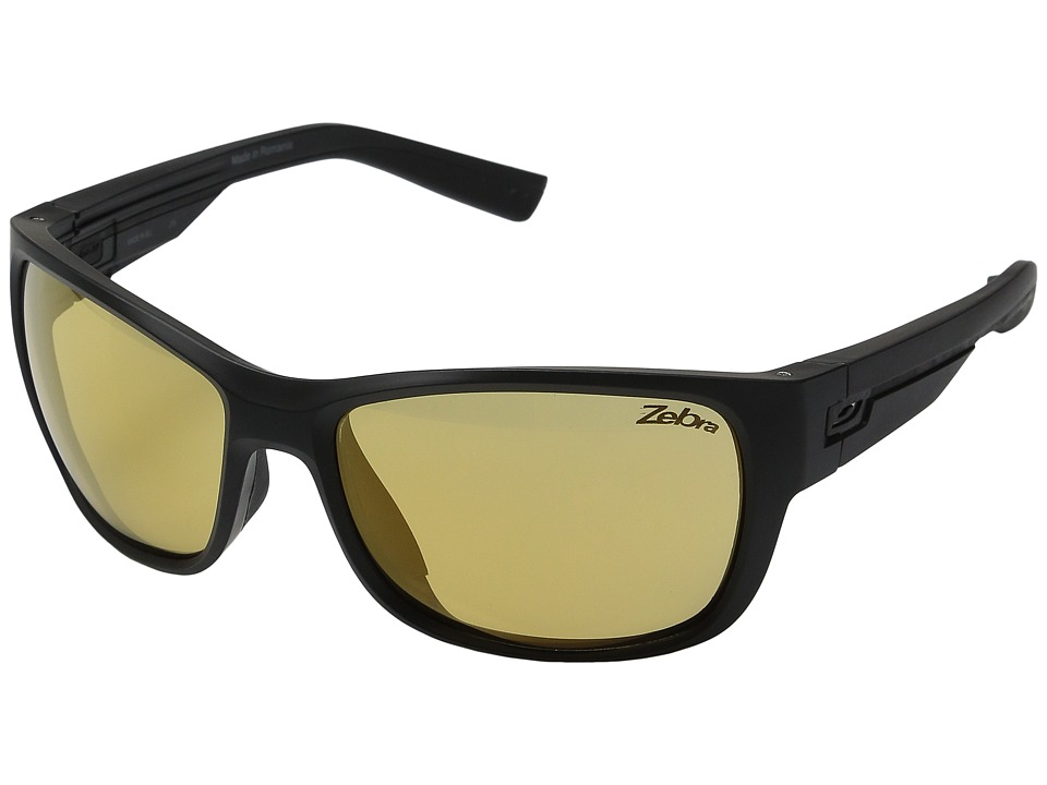 Julbo Eyewear - Drift (Matte Black/Black 1 with Zebra Photochromic Lens) Sport Sunglasses