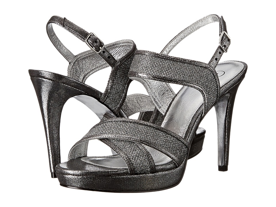Adrianna Papell Ansel (Gunmetal Jimmy Net) High Heels