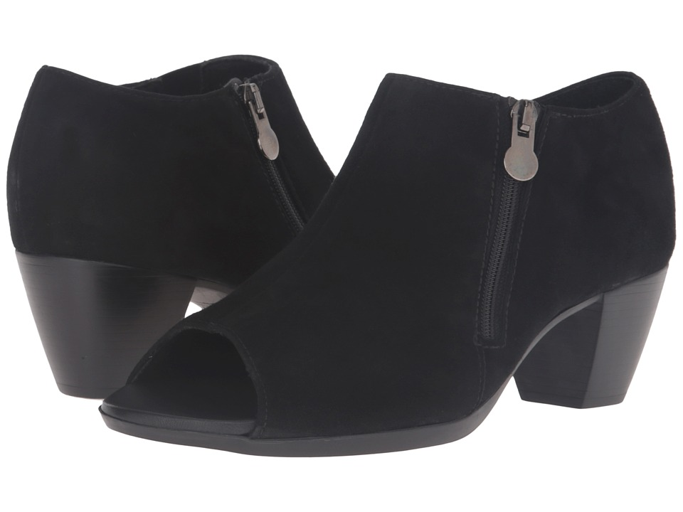 Munro - Luisa (Black Kid Suede) High Heels