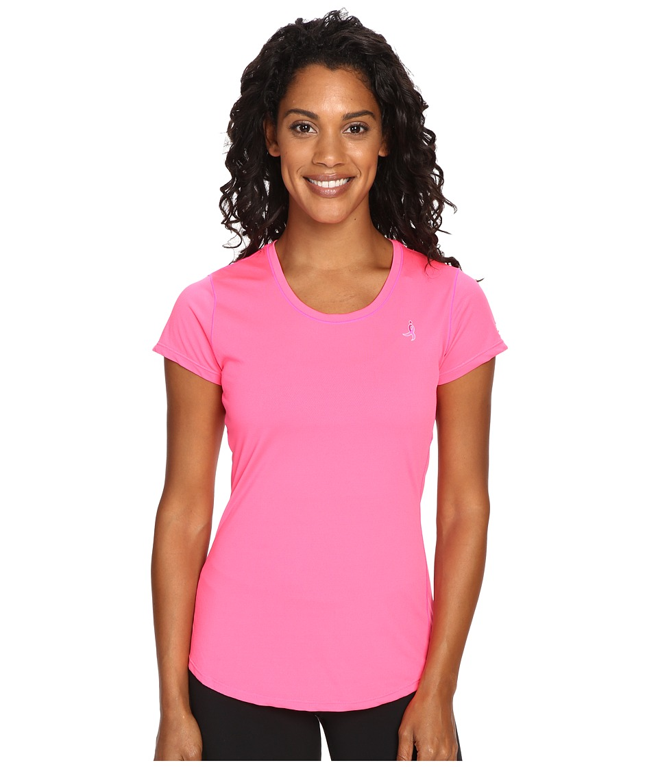 New Balance - Komen Accelerate Short Sleeve (Amp Pink) Women's Clothing
