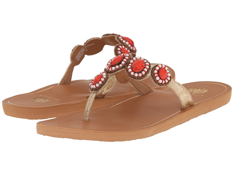 Yellow Box - Cranberry (Coral) Women's Sandals