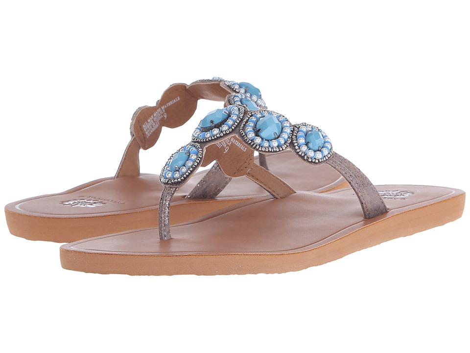 Yellow Box - Cranberry (Turquoise) Women's Sandals