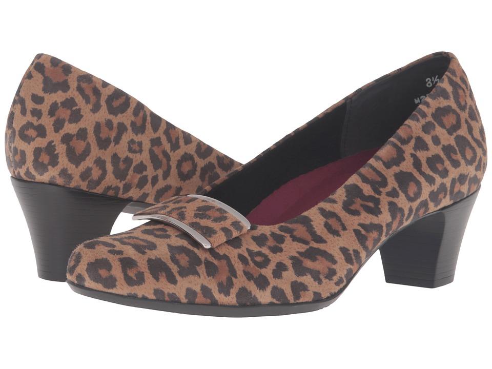 Munro - Mara (Leopard/Leopard Trim) High Heels