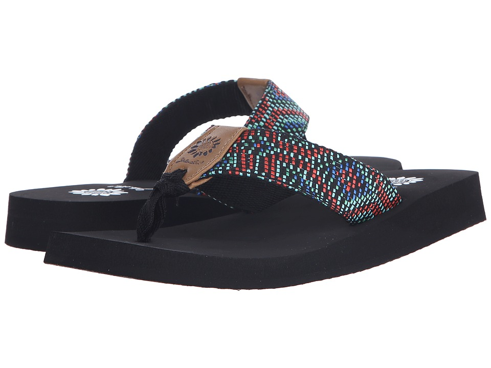 Yellow Box - Emory (Red Multi) Women's Sandals