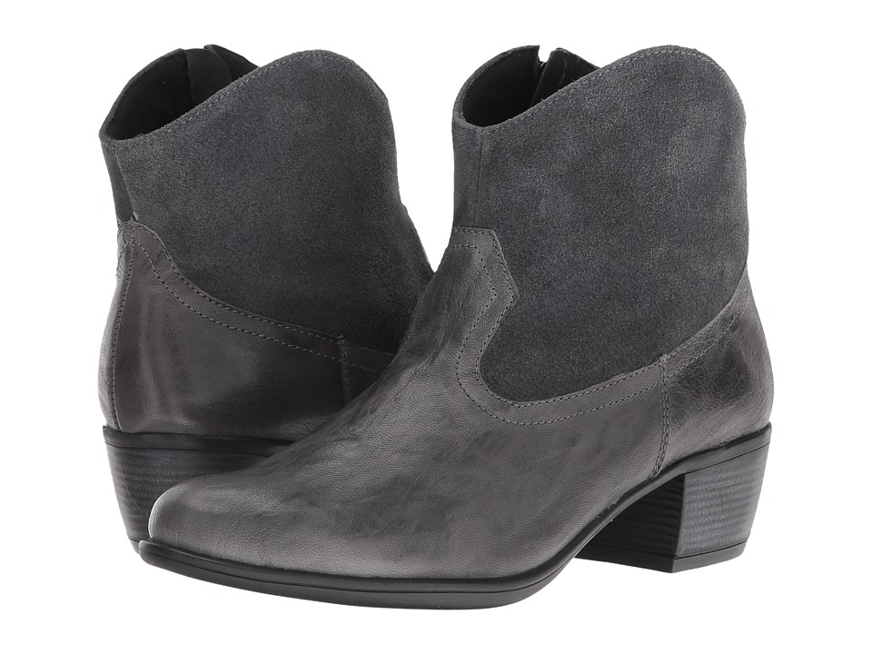 Munro - Laramie (Grey Leather/Suede) Cowboy Boots