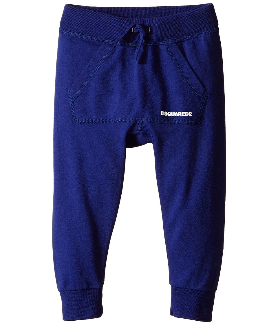 Dsquared2 Kids - Sweatpants (Infant) (Blue) Boy's Casual Pants