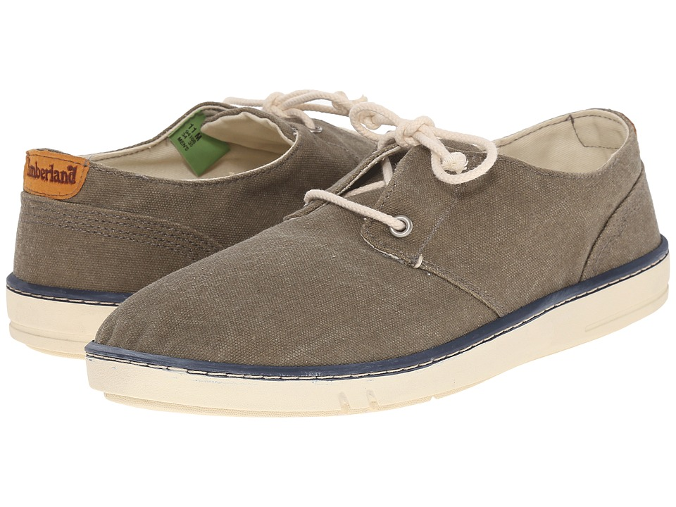 Timberland - Sandbridge Canvas 2 Eye Oxford (Green) Men