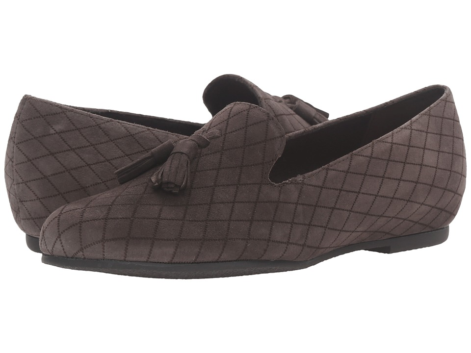 Munro - Tallie (Grey Kid Suede) Women's Slippers