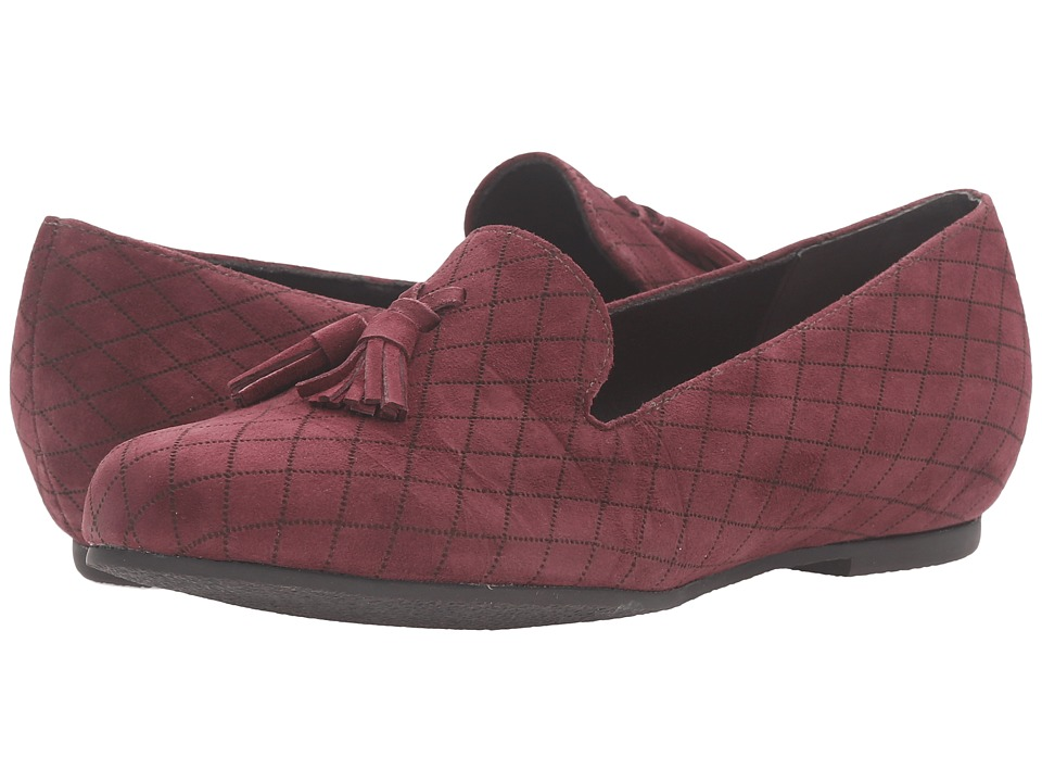 Munro - Tallie (Wine Kid Suede) Women's Slippers