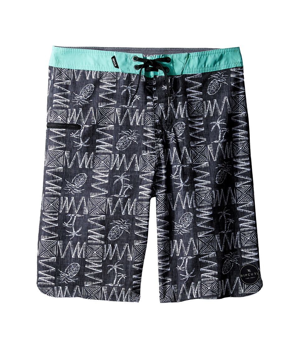 Rip Curl Kids - Mirage Hustle Boardshorts (Big Kids) (Black) Boy's Swimwear