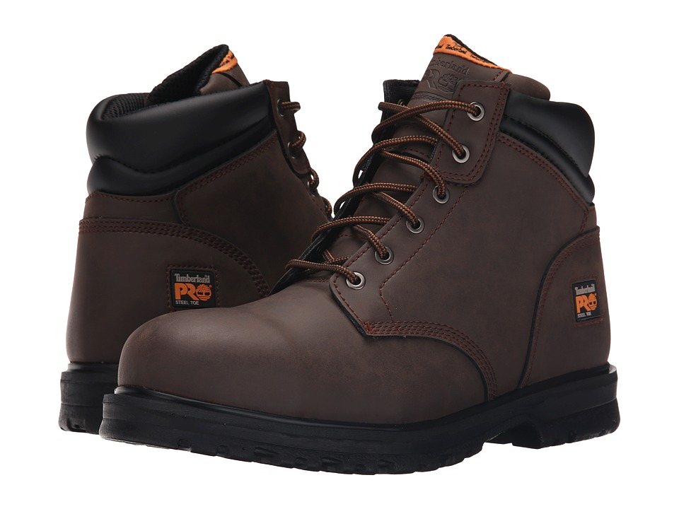 Timberland - 6 inch The Grierson Steel Toe (Brown) Men's Shoes
