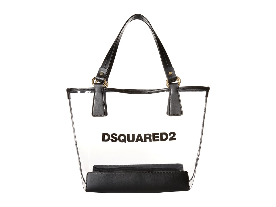 Dsquared2 Kids - PVC Diaper Bag (Clear) Bags