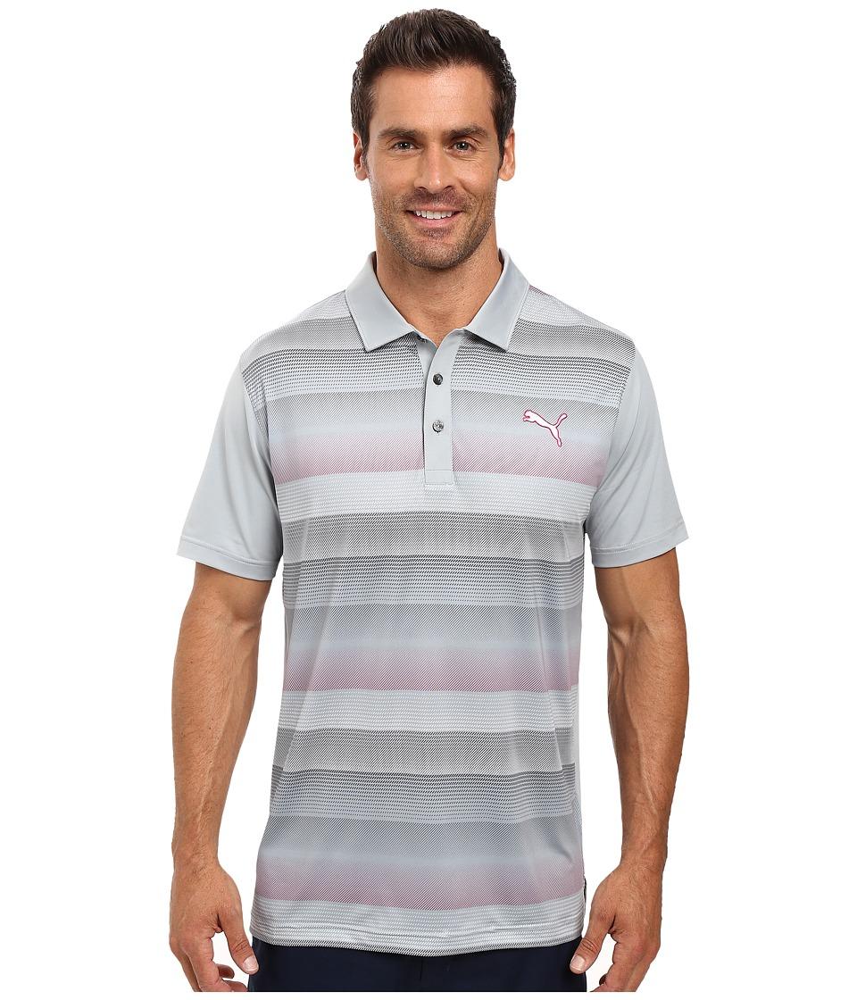 PUMA Golf - GT Roadmap Polo (Quarry) Men's Clothing