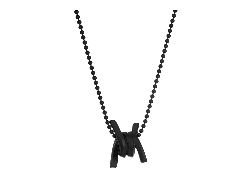 DSQUARED2 - Babe Wire Necklace (Nero) Necklace