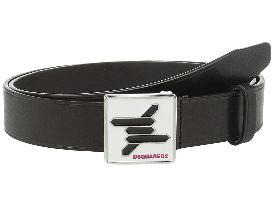 DSQUARED2 - Babe Wire Belt (Nero) Men's Belts
