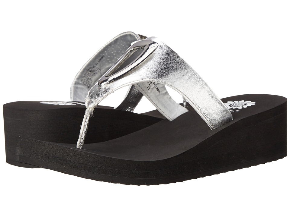 Yellow Box - Mariah (Silver) Women's Wedge Shoes