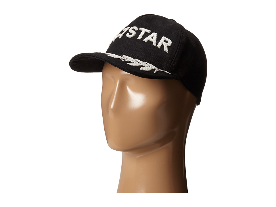 DSQUARED2 - 24/7 Star Baseball Hat (Nero Argento) Baseball Caps