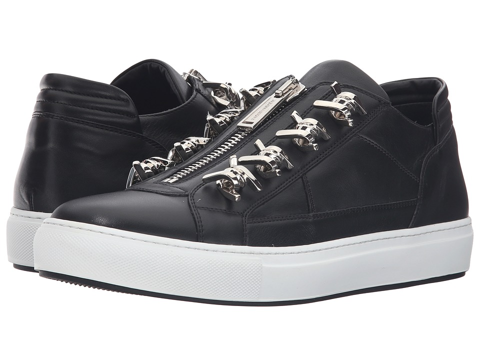 DSQUARED2 - Babe Wire Low Top Sneaker (Nero Palladio) Men's Shoes
