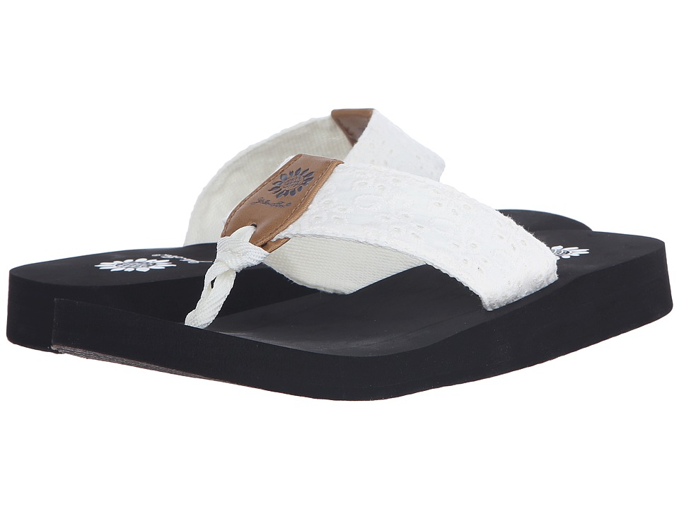 Yellow Box - Root (White/Black) Women's Sandals